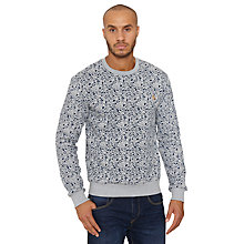 Buy Original Penguin Gentleman Print Sweatshirt, Rain Heather Online at johnlewis.com