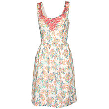 Buy Fat Face Isfield Tropical Floral Dress Online at johnlewis.com