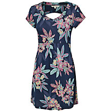 Buy Fat Face Hollyhead Floral Tunic, Blue Online at johnlewis.com
