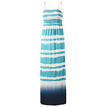 Buy Fat Face Carrick Tie Dye Stripe Maxi Dress, Marina Online at johnlewis.com