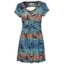 Buy Fat Face Holyhead Ombre Palm Tunic Dress, Blue Online at johnlewis.com