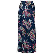 Buy Fat Face Jade Floral Maxi Skirt, Navy Online at johnlewis.com
