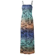 Buy Fat Face Carrick Ombré Palm Maxi Dress, Navy Online at johnlewis.com
