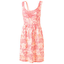 Buy Fat Face Isfield Stencil Leaves Dress, Corabell Online at johnlewis.com