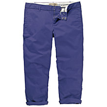 Buy Fat Face Clean Chino Crop Trousers, Jay Blue Online at johnlewis.com