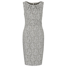 Buy Planet Lace Dress, Silver Grey Online at johnlewis.com
