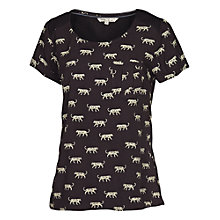 Buy Fat Face Daisy Big Cat T-shirt, Phantom Online at johnlewis.com