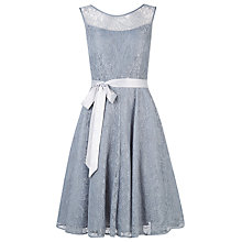 Buy Kaliko Bead and Lace Prom Dress, Grey Online at johnlewis.com