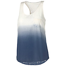 Buy Fat Face Elstead Lace Back Cami, Navy Online at johnlewis.com