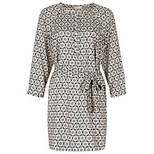 Buy Planet Tile Print Tunic Dress, Cerise Online at johnlewis.com