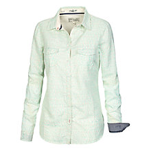 Buy Fat Face Classic Fit Mini Palm Shirt, Ivory Online at johnlewis.com