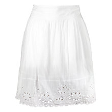 Buy Fat Face Emma Cutwork Skirt Online at johnlewis.com