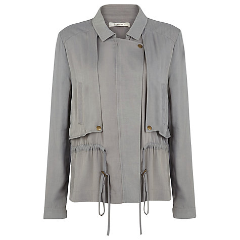Buy Kaliko Soft Sporty Jacket, Grey Online at johnlewis.com