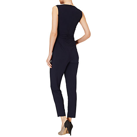 Buy Phase Eight Ellie Jumpsuit, Navy Online at johnlewis.com