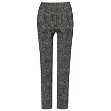 Buy Phase Eight Madison 7/8th Trousers, Black/Ivory Online at johnlewis.com