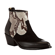 Buy Somerset By Alice Temperley Ledbury Leather Ankle Boots Online at johnlewis.com