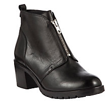 Buy John Lewis Twenty Four Leather Ankle Boots Online at johnlewis.com