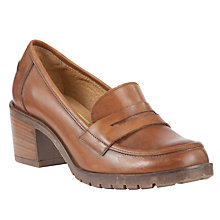 Buy John Lewis Legend Leather Court Shoes, Tan Online at johnlewis.com
