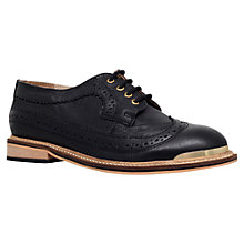 Buy Carvela Lullaby Leather Lace Up Brogues Online at johnlewis.com
