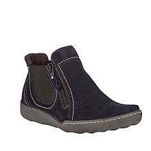 Buy John Lewis Canary Sport Leather Ankle Boots Online at johnlewis.com