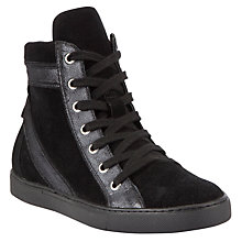 Buy Collection WEEKEND by John Lewis Ranger Leather Ankle Boots, Black Online at johnlewis.com