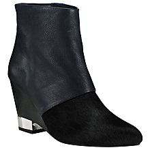 Buy Kin by John Lewis Thirty Three Leather High Wedge Heel Ankle Boots Online at johnlewis.com