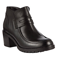 Buy Collection WEEKEND by John Lewis Fall Leather Ankle Shoe Boots Online at johnlewis.com