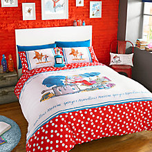 Buy Roald Dahl George's Marvellous Medicine Duvet Cover and Pillowcase Set Online at johnlewis.com