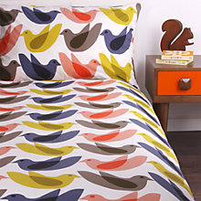 Buy Orla Kiely Birds Duvet Cover and Pillowcase Set Online at johnlewis.com