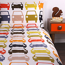Buy Orla Kiely Cars Duvet Cover and Pillowcase Set Online at johnlewis.com