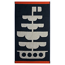 Buy Orla Kiely Boats Towels Online at johnlewis.com