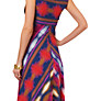 Buy Phase Eight Clemence Chevron Dress, Multi Online at johnlewis.com