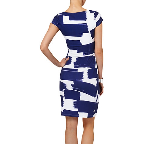 Buy Phase Eight Annie Abstract Dress, Navy/Ivory Online at johnlewis.com