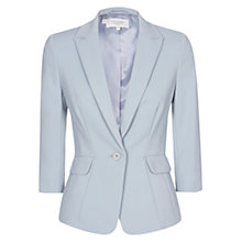 Buy Hobbs Invitation Ives Jacket, Dove Blue Online at johnlewis.com