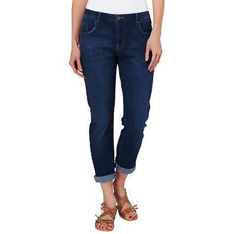 Buy Phase Eight Charley Boyfriend Jeans, Indigo Online at johnlewis.com