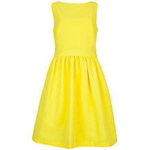 Buy Ted Baker Juletee Bow Detail Dress, Bright Yellow Online at johnlewis.com