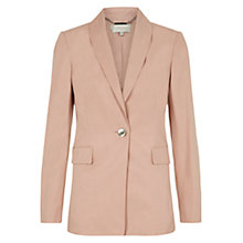 Buy Hobbs London Sarah Jacket, Rose Bud Pink Online at johnlewis.com