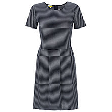 Buy NW3 by Hobbs Farah Dress, Navy Ivory Online at johnlewis.com