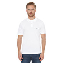 Buy Original Penguin Slim Fit Daddy Polo Shirt, Bright White Online at johnlewis.com