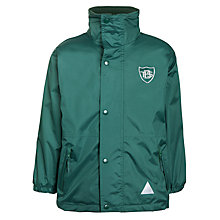 Buy Buckholme Towers School Reversible Waterproof Coat, Green Online at johnlewis.com