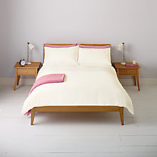 Buy John Lewis Alexis Pleat Duvet Cover and Pillowcase Set Online at johnlewis.com