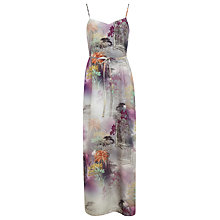 Buy Miss Selfridge Digital Print Maxi Dress, Assorted Online at johnlewis.com