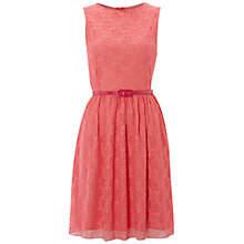 Buy Rise Alexia Lace Dress, Pink Online at johnlewis.com