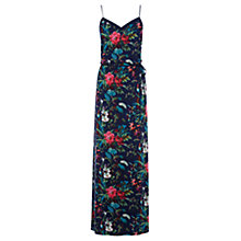 Buy Oasis Tropical Forest Cami Maxi Dress, Multi/Blue Online at johnlewis.com