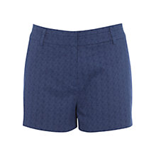 Buy Oasis Modern Geo Shorts, Multi/Blue Online at johnlewis.com