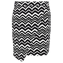 Buy Sugarhill Boutique Tara Skirt, Black/Cream Online at johnlewis.com