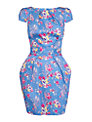 Closet Floral Tie Back Dress, Multi