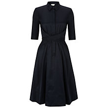 Buy Hobbs London Savina Dress, Navy Online at johnlewis.com