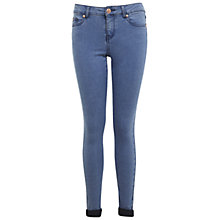 Buy Miss Selfridge Pretty Blue Ultra Soft Jeans, Bleached Denim Online at johnlewis.com