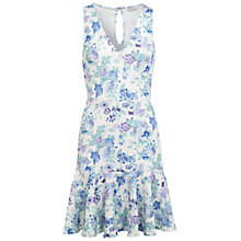 Buy Miss Selfridge Floral Trumpet Hem Dress, Assorted Online at johnlewis.com